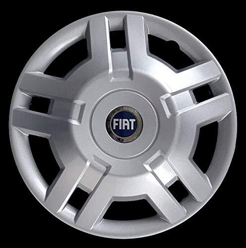 Generico Fiat DUCATO COPRICERCHIO BORCHIA Uno (1) FURGONI E Camper 1300 Diametro 15 Logo Blu