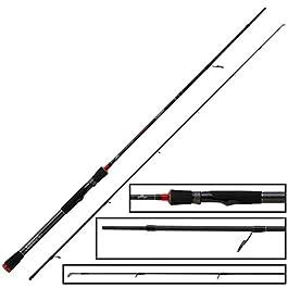 Fox Rage Prism Medium Spin Rod 195cm 5–21g–Bar SCH Canne à pêche pour pêche, Spin Canne à pêche légère pour barsche, Spin Angel pour jiggen