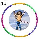 Joyibay Aro Deportivo Creativo Desmontable Aro de Entrenamiento Aro de Ejercicio Aro de Baile para Niños
