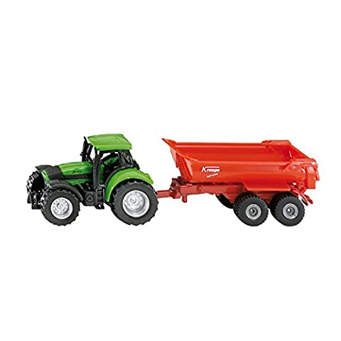 Siku 1632 Tractor with Half-Pipe Dumper Assorted Colours