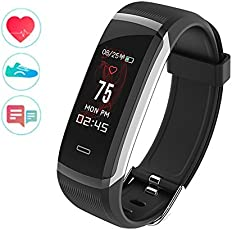WEARFIT GT101 Color Screen Smart Band Real-time Heart Rate Monitor Smart Bracelet Waterpoof FitnessTracker with Stopwatch