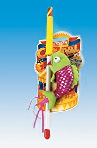 Classic Catnip Crazy Fishing Rod Cat Tease Toy from Classic