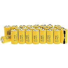 anmas caja 2/3AA batería de Ni-CD 600mAh batería recargable de baterías para unidades