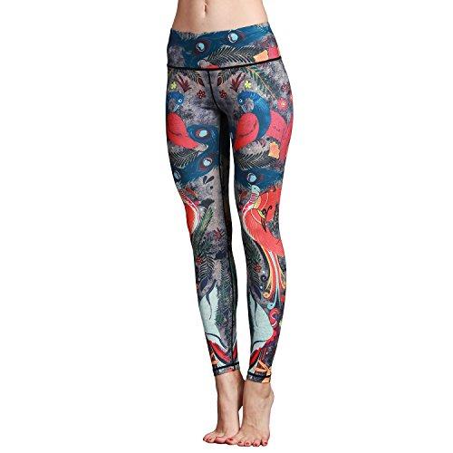 SEEU Yoga Pants Damen Printe S