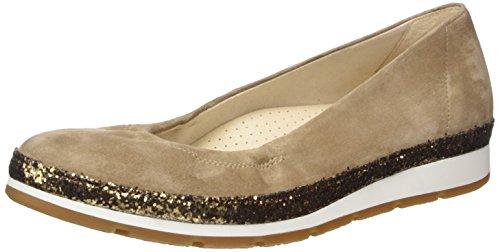 Gabor Shoes Damen Comfort Geschlossene Ballerinas, Braun (Walnut Kristall 43), 40.5 EU
