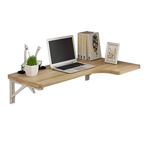 Drop-Blatt Klapptisch, Wand- Küche & Esszimmer Tische, Multifunktionscomputer Kindertisch, Walnuss Farbe (größe : 100x60x40cm) -