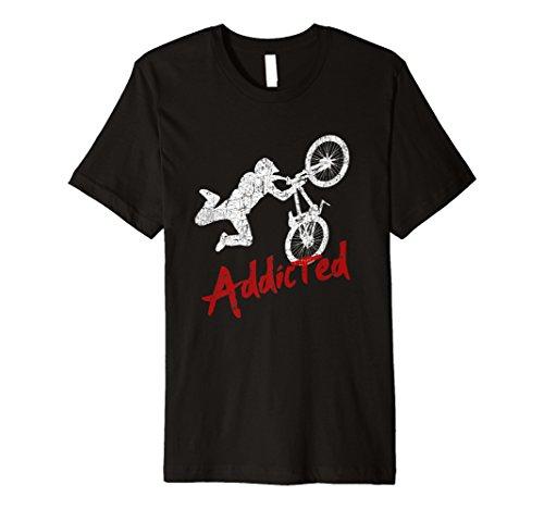 BMX Addicted Funny Rider Shirt Bike Lover Geschenke Freestyle