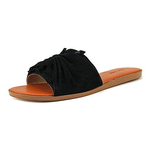 Nine West Melenda Toile Sandale Black