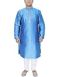 Men's Kurta robe de pyjama ethnique Bollywood vêtements de mariage Inde robe traditionnelle