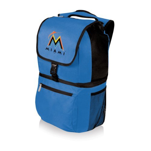 mlb-miami-marlins-zuma-insulated-cooler-backpack-by-picnic-time
