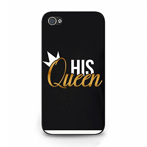 Lovers Boyfriend Girlfriend Couple Phone Hard Case Cover for Iphone 4/4s King Queen Couples PC Cover Case Color088d