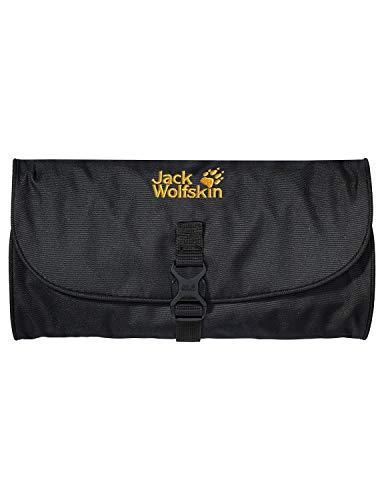Jack Wolfskin Unisex Kulturbeutel Waschsalon, black, 48 x 32 x 5 cm, 1 liter, 86130-600