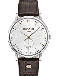 Roamer Reloj Analógico para Hombre de Cuarzo con Correa en Cuero 980812 40 15 09