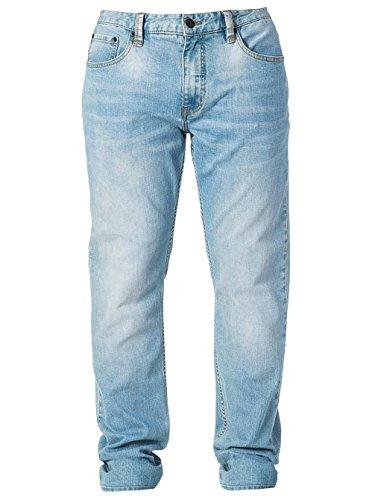 Herren Jeans Hose Rip Curl Straight Jeans Super Stone