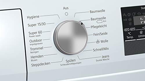 Siemens iQ300 WM14N140 Waschmaschine / 6,00 kg / A+++ / 137 kWh / 1.400 U/min / Schnellwaschprogramm / Nachlegefunktion / aquaStop mit lebenslanger Garantie / - 4