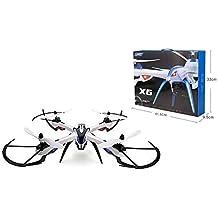 Yacool ®Jjrc H16 Tarantula X6 Drone 4CH RC Quadcopter con Hyper Ioc (sin Incluir Cámara) -color: Blanco y Negro