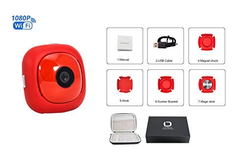 OnReal Action Kamera Sport WiFi 1080P Full HD Action Cam mit Fernbedienung unterstützt Phones Tablets für die Aufnahme Video Multifunktions Bracket Helm Sport Action Cam