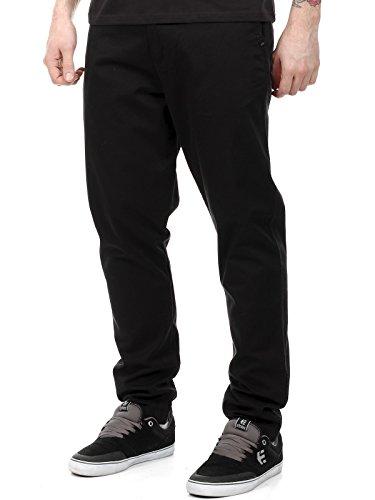 Pantaloni Quiksilver Dane 2 Chino Nero (28 Vita = Eu 42 , Nero)