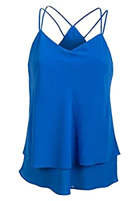 EX New Look Ladies Georgette V Neck Camisole Top