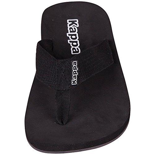 Kappa - Amphib Footwear Unisex, Infradito, unisex Nero (1110 black/white)