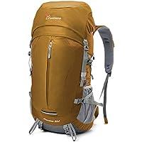 MOUNTAINTOP 50L/55L Outdoor Wanderrucksäcke Trekkingrucksäck Reiserucksäck mit Regenhülle