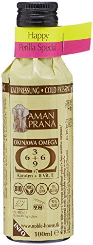Aman Prana Huile Okinawa Omega Happy Perilla Spécial Bio 100 ml