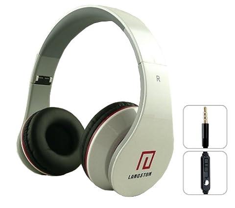 Langston ® Faltbare Super Bass High Definition Kopfhörer (iM-12 V)