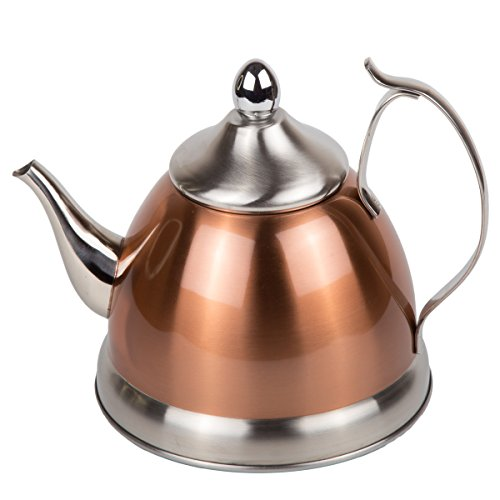 Creative Home Nobili Tee Edelstahl Wasserkocher Tee kupfer