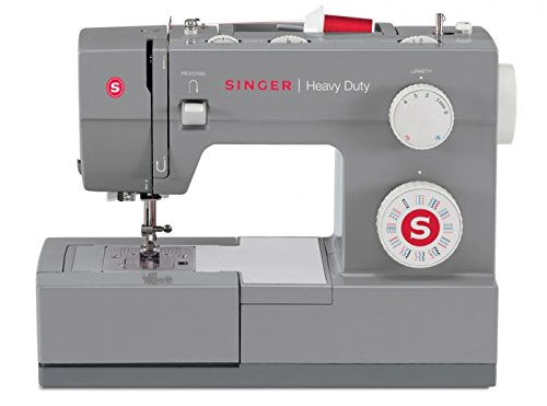 Singer Heavy Duty - Sewing Machines (Electric, Grey, Buttonhole Foot, Cover)