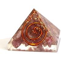 Reiki heilende Energie geladen Krystal Gifts UK Lepidolith Crystal Chip Energetische Pyramide (2x 2x 2cm) mit... preisvergleich bei billige-tabletten.eu