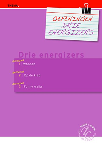 Oefeningen drie energizers (Dutch Edition)