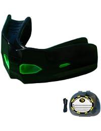 Brain-Pad - Protector para deportes de combate, modelo de entrenamiento táctico, negro/verde