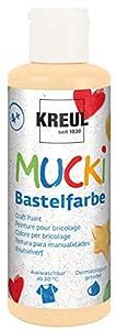 Mucki 24104-Pintura acrílica (80ml, púrpura, Color de Piel