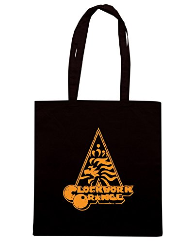T-Shirtshock - Borsa Shopping WC0506 NETHERLANDS T-SHIRT - CLOCKWORK ORANGE Nero