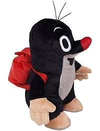 Preisvergleich für Der kleine Maulwurf stehend mit Rucksack ca. 20cm