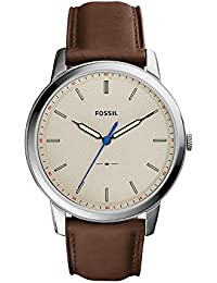 Fossil Analog Grey Dial Men's Watch-FS5306