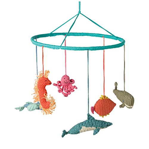 Hoppa Babylonia HOP-DEC03_MF.540_1Mobile Fish Türkis Fisch Mobile