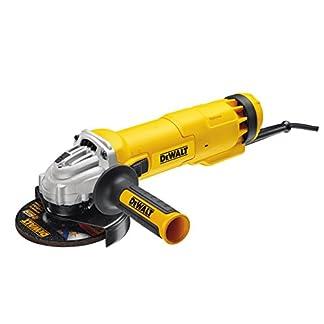 Dewalt DWE4207-QS Amoladora, 1010 W, 230 V, Negro y amarillo