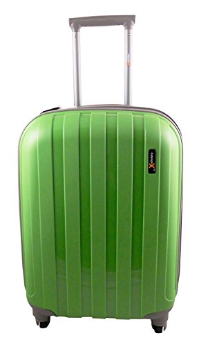 Luggage X 56 cm), polipropilene rigida (22 55,88 cm, colore: verde-Trolley leggero, consegna il giorno successivo.