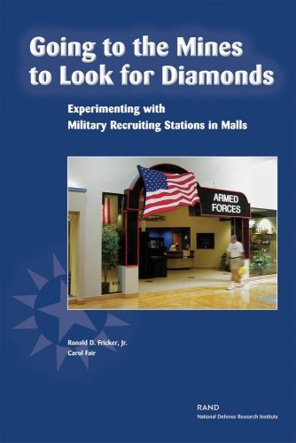 Going to the Mines to Look for Diamonds: Experimenting with Military Recruiting Stations in Malls (English Edition)