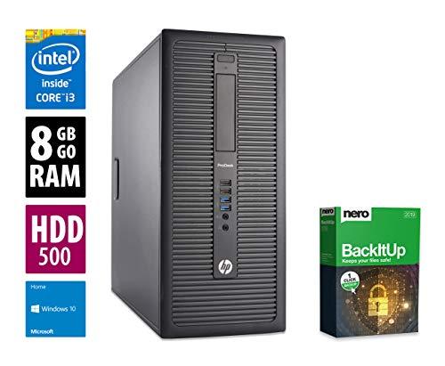Ordinateur de Bureau HP 6200 Pro SFF - Core i3-2120 @ 3,3 GHz - 4Go RAM - 500 Go HDD - Graveur DVD - Win10 Home (Reconditionné Certifié)