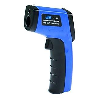 as–Schwabe infrarrojos Termómetro/pirómetro, medición de la temperatura de 50Hasta + 380grados Celsius, 1pieza, azul, 24101