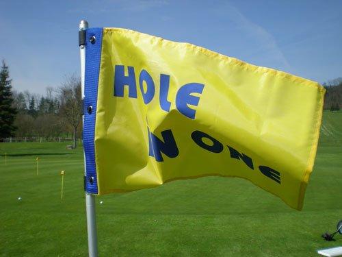 Golffahne, Golf Flag, Fahne, Flagge deluxe im Aludesign vom PGA Pro