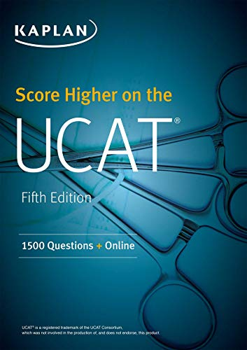 Score Higher on the UCAT: 1500 Questions + Online (Kaplan Test Prep)