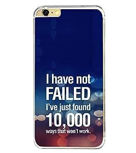 ifasho Designer Phone Back Case Cover Apple iPhone 6 ( I Love Bangalore Karnataka Blue Wood Look )