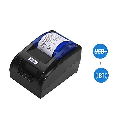 Impresora térmica recibos 58 mm interfaz BT USB Impresión