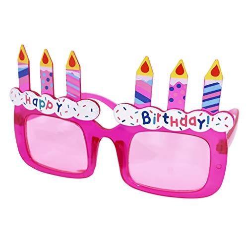 Kostüm Spitzen Fußball - Heatnine Geburtstag Brille Spaß Kostüm lustige Partybrille Sonnenbrille Happy Birthday