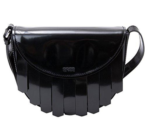 BREE, Borsa a tracolla donna nero black 24 cm x 19,5 cm x 6,5 cm (B x H x T) black