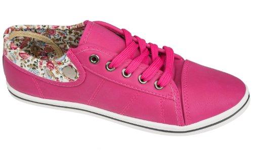 Gibra , Baskets pour femme Rose - Color de rosa