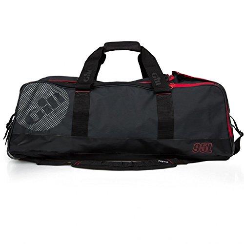 2016 Gill 95L Rolling Cargo Bag Dark Grey/Red Detail L067 (Trockenanzug Nylon)